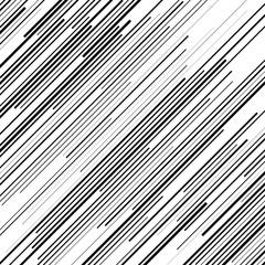 oblique black lines with random thickness