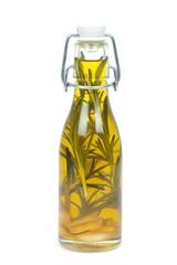 Knoblauch-Rosmarin-Öl