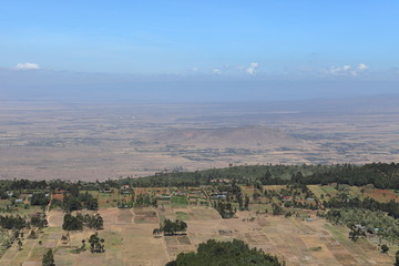 Landschaften in Kenia