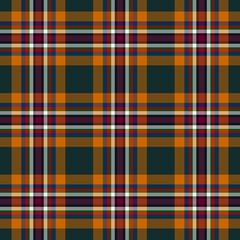 Tartan traditional checkered british fabric seamless pattern.