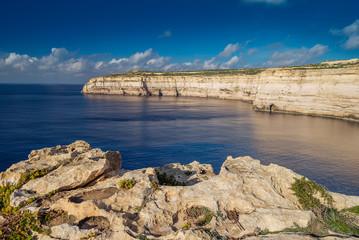 Coastline of Gozo Island, Malta