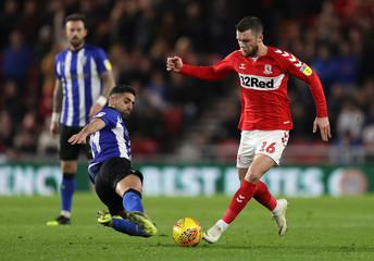 Championship - Middlesbrough v Sheffield Wednesday