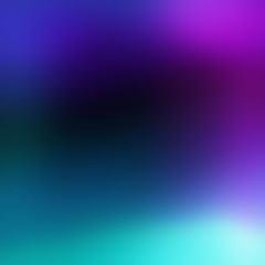 Colorful blurred light leaks abstract digital background. Holographic effect image. Magic glitch texture.