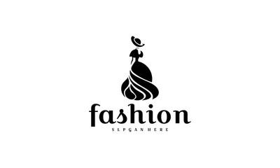Fashion Logo designs template, Fashion Show logo template vector - Vector