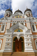 Alexander-Newski-Kathedrale auf dem Domberg in Tallinn, Estland