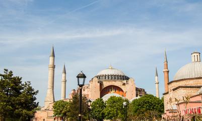 Hagia Sophia,  the world famous monument of Byzantine architecture