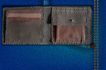 handmade leather wallet1