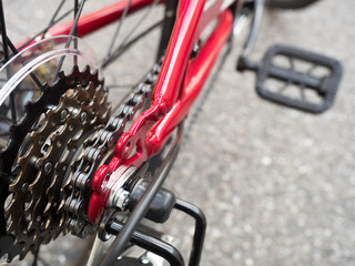 自転車の変速ギヤ
