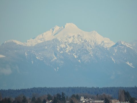 Cascades of Christmas Eve from Seattle 3