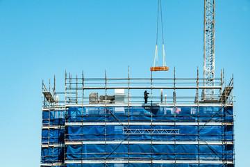 Building progress . At 47 Beane St. Gosford. August 29 2018.  (118ne)