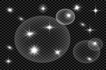 glare on a dark background 4