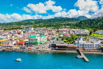 Fotomurales - Port of Roseau, Dominica.