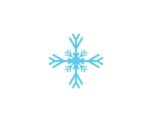 Snowflakes icon illustration