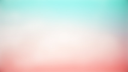 Soft cloudy gradient pastel Abstract abstract double exposure of blurred beautiful background in sweet color