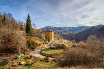 Warm Winter on Ligurian Apennines