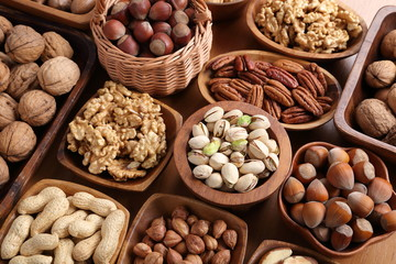 Mix of nuts.