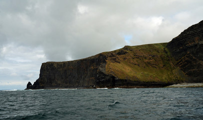 Wild Atlantic Way - Boat trip on the Cliffs of Moher