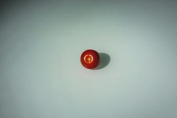 Tomate - von oben 1