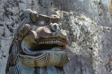 首里城 歓会門の石獅子