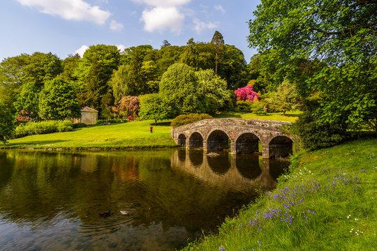 Stourhead Gardens in Wiltshire, UK