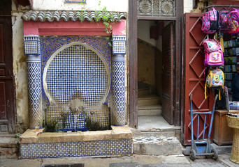 Water fountain | Fez, Morocco