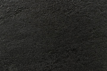 Black and dark background. The texture of the surface of black stone. Grunge backdrop with space for text or image.