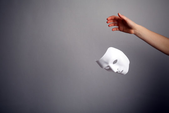 The mask is a symbol of duplicity