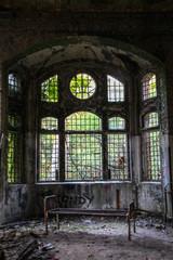Keuken foto achterwand Oud Ziekenhuis Beelitz Ruins of Beelitz-Heilstätten Lost place Berlin Brandenburg;