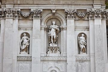 Facade of a Church in Venice