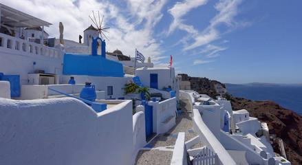 Oia, Ile de Santorin, Cyclades, Grèce