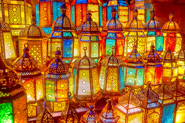 Photo Blinds Egypt The arabian lamps in Cairo, Egypt