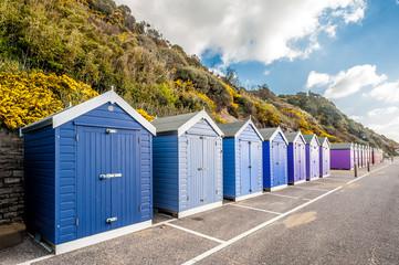 Storage beach huts