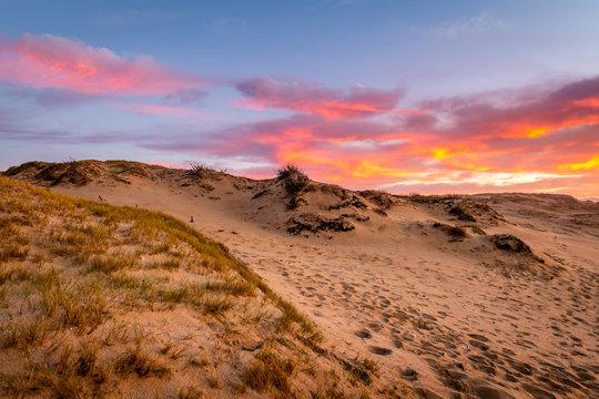 Sunset from Marina Dunes Park