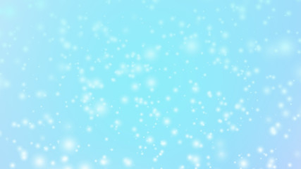 shiny glitter on blue background - holiday abstract backdrop styled concept