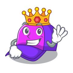 King baseball cap in shape cartoon beautiful