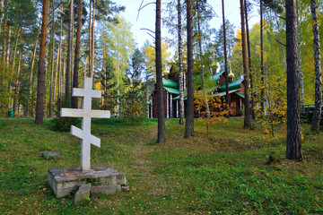 Monastery Ganina Yama, the place of burning of the Royal Romanov family (Монастырь Ганина Яма место сожжения царской семьи Романовых)