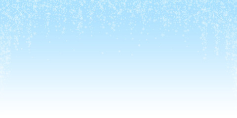 Beautiful glowing snow Christmas background. Subtl