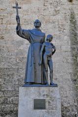 Statue, Basílica San Francisco de Asís, La Habana, Havanna, Kuba