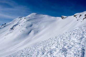 Scialpinismo al Valserhorn, Canton Grigioni, Svizzera
