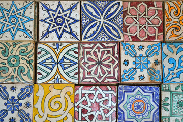 Moroccan ceramic tiles | Fez, Morocco