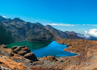 Gokyo lake panorama