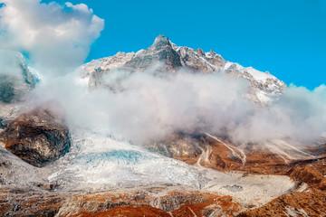 Nepal Langtang Lirung glacier