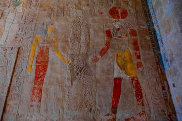 Horus und Pharaonin