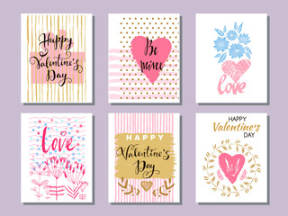 Set Valentine card14