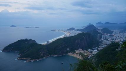 Fotobehang Rio de Janeiro Vue sur Rio de Janeiro Brésil