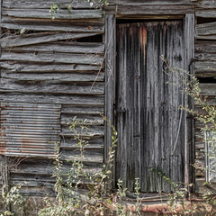 Old Door on Barn