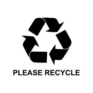 please recycle symbol