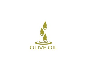 Olive oil logo design vector illustration