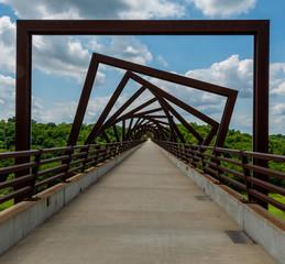 Printed roller blinds Bridges High Trestle Trail Bridge in Rural Iowa