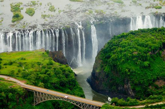 Victoria Falls - Zambia and Zimbabwe
